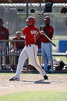 Raywilly Gomez - Arizona Diamondbacks - 2009 spring training.Photo by:  Bill Mitchell/Four Seam Images