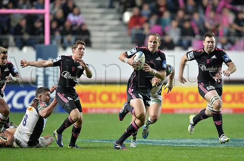 04.04.2014. Paris, France. Amlin Challenge Cup Rugby. Stade Francais versus Harlequins.  Meyer Bosman (sf)