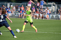 Kansas City, MO - Saturday June 25, 2016:  Heather O'Reilly, Jessica Fishlock during a regular season National Women's Soccer League (NWSL) match at Swope Soccer Village.
