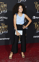 www.acepixs.com<br /> <br /> March 2 2017, LA<br /> <br /> Sofia Wylie arriving at the premiere of Disney's 'Beauty And The Beast' at the El Capitan Theatre on March 2, 2017 in Los Angeles, California.<br /> <br /> By Line: Famous/ACE Pictures<br /> <br /> <br /> ACE Pictures Inc<br /> Tel: 6467670430<br /> Email: info@acepixs.com<br /> www.acepixs.com