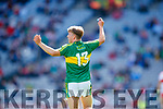 Fiáchra Clifford Kerry scores his side's third goal against  Derry in the All-Ireland Minor Footballl Final in Croke Park on Sunday.