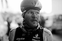 Christian Meier's (CAN/Orica-GreenEDGE) post-race face<br /> <br /> 102nd Liège-Bastogne-Liège 2016