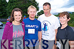 Pictured at the Kilgobnet 10k road race on Friday evening were Jackie Murphy, Seamus Murphy, Tony Foley and Eileen Sweeney...