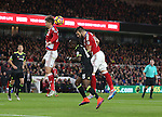 Alvaro Negredo of Middlesbrough directs header towards goal during the English Premier League match at the Riverside Stadium, Middlesbrough. Picture date: November 20th, 2016. Pic Simon Bellis/Sportimage