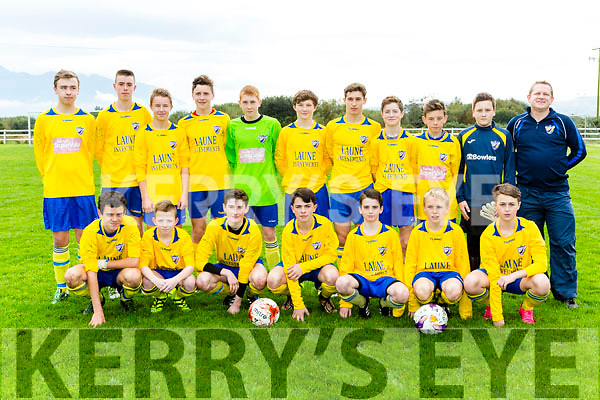 The Killorglin team that played Caherdavin in the FAI cup in Killorglin on Saturday morning