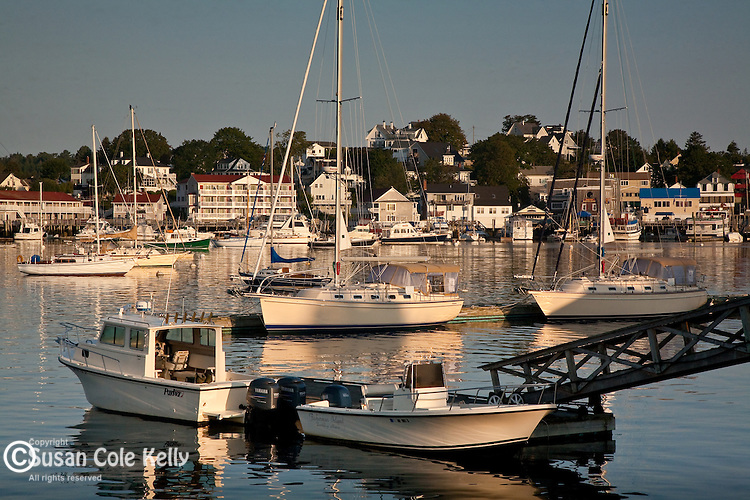 Sunrise in Boothbay Harbor, ME