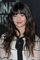 www.acepixs.com<br /> January 11, 2017  New York City<br /> <br /> Malina Weissman attending Netflix&rsquo;s world premiere of Lemony Snicket&rsquo;s 'A Series of Unfortunate Events' at AMC Lincoln Square on January 11, 2017 in New York City.<br /> <br /> <br /> Credit: Kristin Callahan/ACE Pictures<br /> <br /> <br /> Tel: 646 769 0430<br /> Email: info@acepixs.com
