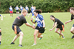 Pamela Browne in action at the Tag Rugby at the Pig N Porter Tag Rugby Fest at the Old Crescent Rugby Club in Limerick this weekend.<br /> Pic. Brian Arthur/ Press 22.