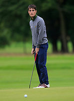 Dermot McElroy (NIR) on the 10th green during Round 2 of the Bridgestone Challenge 2017 at the Luton Hoo Hotel Golf &amp; Spa, Luton, Bedfordshire, England. 08/09/2017<br /> Picture: Golffile | Thos Caffrey<br /> <br /> <br /> All photo usage must carry mandatory copyright credit     (&copy; Golffile | Thos Caffrey)