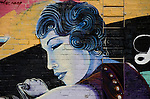 Wall Graffiiti murals in Sacramento CA