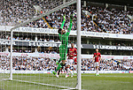 Manchester United's David De Gea makes a save from Tottenham's Harry Kane during the Premier League match at White Hart Lane Stadium, London. Picture date: May 14th, 2017. Pic credit should read: David Klein/Sportimage
