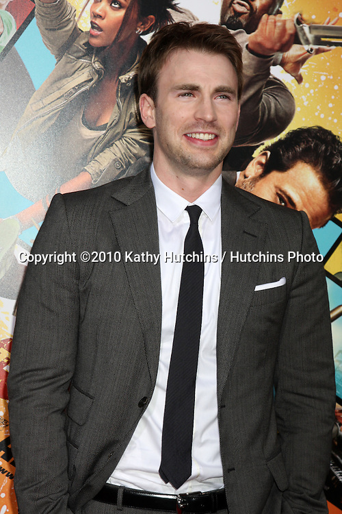 "Chris Evans.arrives at ""The Losers"" Premiere.Grauman's Chinese Theater.Los Angeles, CA.April 20, 2010.©2010 Kathy Hutchins / Hutchins Photo..."