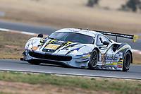 10th January 2020; The Bend Motosport Park, Tailem Bend, South Australia, Australia; Asian Le Mans, 4 Hours of the Bend, Practice Day; The number 27 HubAuto Corsa GT driven by Davide Rigon, Marcos Gomes, Liam Talbot during the team test - Editorial Use