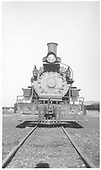 Front view of K-27 #454.<br /> D&amp;RGW  Gunnison, CO  Taken by Maxwell, John W. - 1949