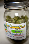 Medicinal marijuana packed for delivery at Canny Bus, a nonprofit pot delivery service, January 11, 2011..CREDIT: Max Whittaker for The Wall Street Journal.Bay Area - Cannybus