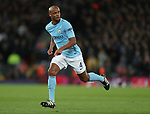 Vincent Kompany of Manchester City in action during the Champions League Quarter Final 1st Leg, match at Anfield Stadium, Liverpool. Picture date: 4th April 2018. Picture credit should read: Simon Bellis/Sportimage