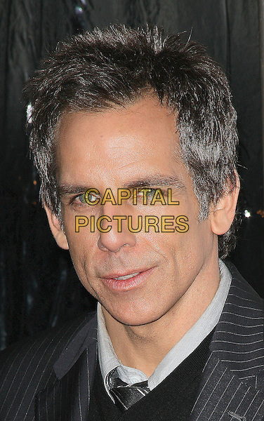 BEN STILLER.At the world film premiere of 'Little Fockers' at Ziegfeld Theatre in New York City, New York, NY, USA, 15th December 2010..portrait headshot  grey gray pinstripe .CAP/ADM/PZ.©Paul Zimmerman/AdMedia/Capital Pictures.