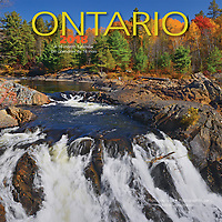 PRODUCT: Calendar<br /> TITLE: Ontario Mini 2018<br /> CLIENT: Wyman Publications / Browntrout Canada