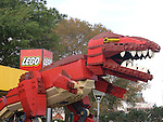 Shopping, Lego Dinosaur, Disney Downtown Marketplace, Orlando, Florida
