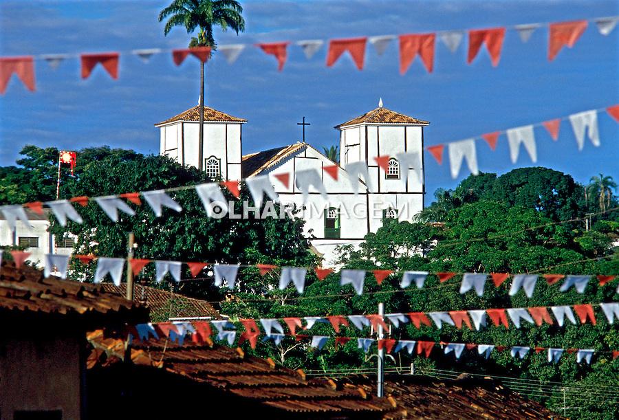 Cidade de Pirenópolis. Goiás. 1990. Foto de Juca Martins.
