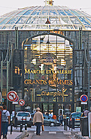 The Marche et Galerie des Grands Hommes shopping centre in the city of Bordeaux
