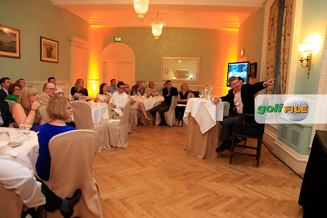 Eircom corporate function at Castlemartyr during the Irish Open, Fota Island, Cork, Ireland.<br /> Picture:  Fran Caffrey www.golffile.ie
