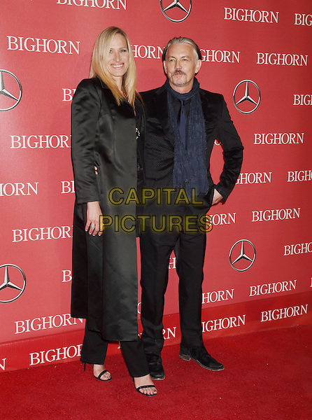 PALM SPRINGS, CA - JANUARY 02: Actor Tommy Flanagan (R) and Dina Flanagan attend the 27th Annual Palm Springs International Film Festival Awards Gala at Palm Springs Convention Center on January 2, 2016 in Palm Springs, California.<br /> CAP/ROT/TM<br /> &copy;TM/ROT/Capital Pictures