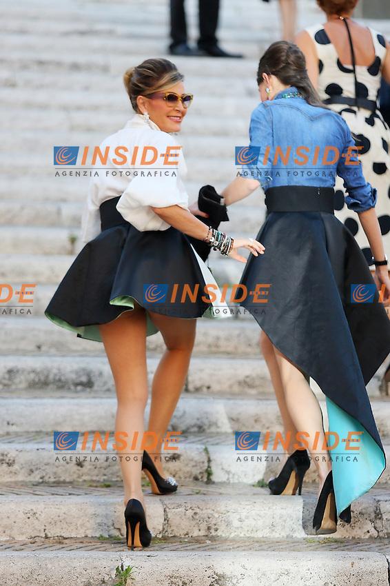 Daniela Santanche<br /> Roma 03/06/2014 Piazza Del Campidoglio. Arrivals the 'Ciak D'Oro' awards. Roma 2014.<br /> (Photo Mark Cape/Insidefoto)