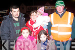5924-5926.---------.Car Crazy.---------.Admiring some of the fabulous rally cars on display in the Square Kenmare last Saturday night were local folk Katie,Joanne,Donal,Teresa and Maggie McCarthy with Niall Riordan.