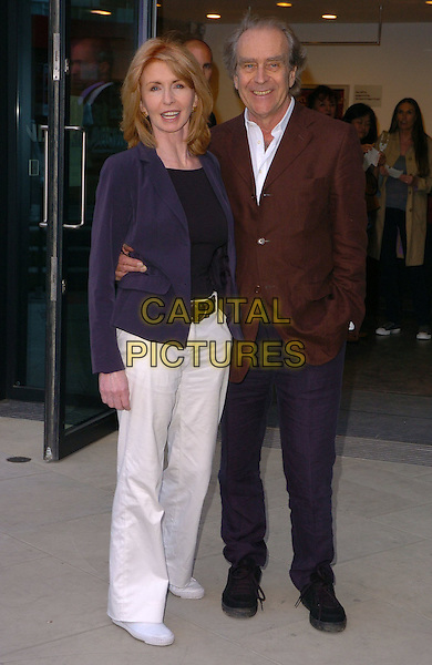 JANE ASHER & GERALD SCARF.At The Roundhouse Re-Opening & Gala Night,.London, England, June 5th 2006..full length.Ref: CAN.www.capitalpictures.com.sales@capitalpictures.com.©Can Nguyen/Capital Pictures
