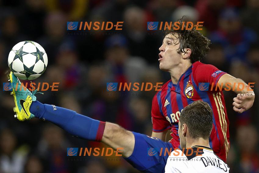 : CSKA Moscow's Mario Fernandes <br /> Mosca 28-09-2016 <br /> CSKA - Tottenham Hotspurs<br /> Foto ITAR TASS / Panoramic / Insidefoto <br /> ITALY ONLY