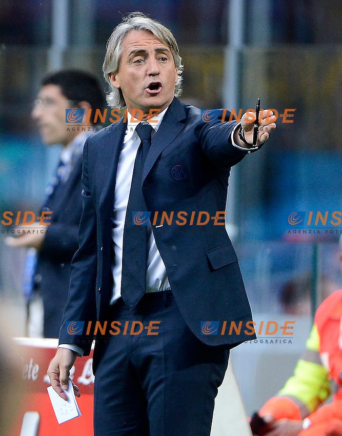 Roberto Mancini Inter<br /> Milano 7-05-2016 Stadio Giuseppe Meazza - Football Calcio Serie A Inter - Empoli. Foto Giuseppe Celeste / Insidefoto