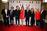 CORAL GABLES, FL - NOVEMBER 20: Danny Aiello, John Herzfeld, Holland Herzfeld, Rebekah Chaney, Tom Berenger, Laura Moretti, Guest and Gregory J. Shepherd attend the premiere screening Of 'Reach Me' Hosted by University Of Miami inside the BankUnited Center Fieldhouse at University of Miami on Thursday November 20, 2014 in Coral Gables, Florida. (Photo by Johnny Louis/jlnphotography.com)