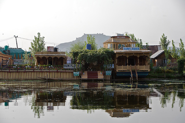 The Sunflower Houseboat on Dal Lake, Srinigar, Kashmir