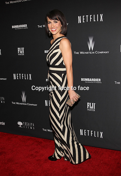 Beverly Hills, California - January 12: Constance Zimmer at The Weinstein Company &amp; Netflix 2014 Golden Globes After Party on January 12, 2014 at The Beverly Hilton Hotel, California. <br /> Credit: MediaPunch/face to face<br /> - Germany, Austria, Switzerland, Eastern Europe, Australia, UK, USA, Taiwan, Singapore, China, Malaysia, Thailand, Sweden, Estonia, Latvia and Lithuania rights only -