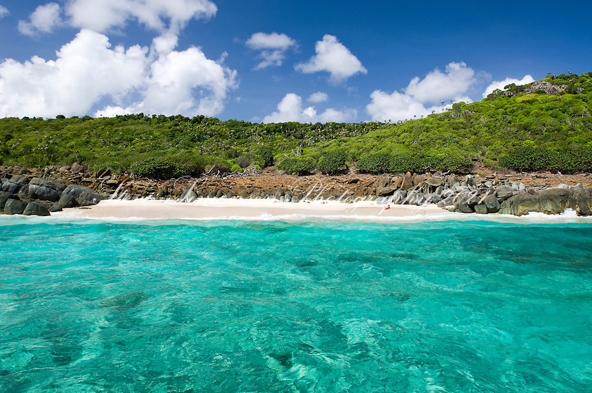 Beach on Inner Brass<br /> St. Thomas<br /> U.S. Virgin Islands