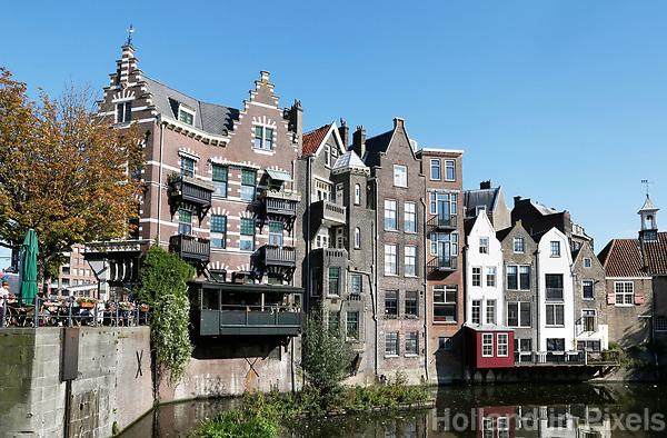 Nederland Rotterdam  2017. De Voorhaven in Delfshaven. Foto Berlinda van Dam / Hollandse Hoogte