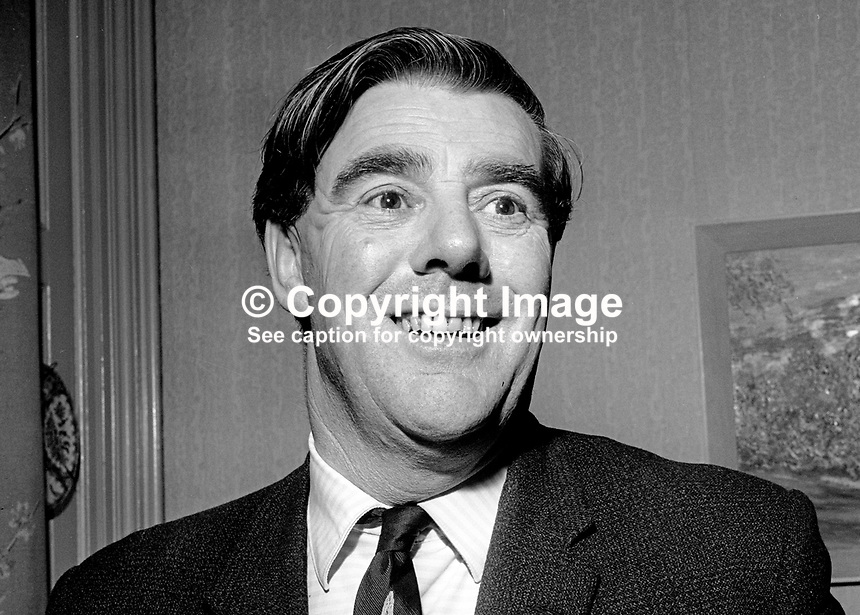 Barry Browne, secretary, Irish Professional Golfers' Association, Ireland, December, 1967, 196712000191<br />
