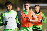 during the Swansea City Training Session at The Fairwood Training Ground in Swansea, Wales, UK. Wednesday 16 October 2019