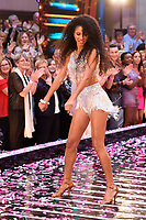 "Vick Hope<br /> at the launch of ""Strictly Come Dancing"" 2018, BBC Broadcasting House, London<br /> <br /> ©Ash Knotek  D3426  27/08/2018"