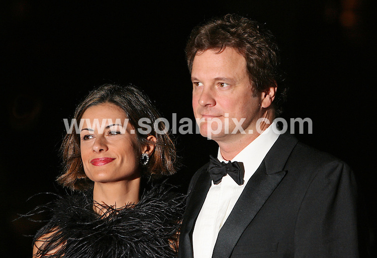**ALL ROUND PICTURES FROM SOLARPIX.COM**.**WORLDWIDE SYNDICATION RIGHTS**.Guests arrive at the Times BFI 51st London Film Festival's opening gala on Wednesday 17th October 2007. The opening screening was with David Cronenberg's 'Eastern Promises' ..This pic: Colin Firth..JOB REF: 5086 SSD     DATE: 17_10_2007.**MUST CREDIT SOLARPIX.COM OR DOUBLE FEE WILL BE CHARGED* *UNDER NO CIRCUMSTANCES IS THIS IMAGE TO BE REPRODUCED FOR ANY ONLINE EDITION WITHOUT PRIOR PERMISSION*