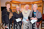 Helen O'Sullivan, Maureen Hanafin, Mary Collins and Ann Hanafin. at the Mary Deady concert  in Siamsa Tire on Friday