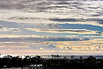 Sunset over Catalina Island, CA>
