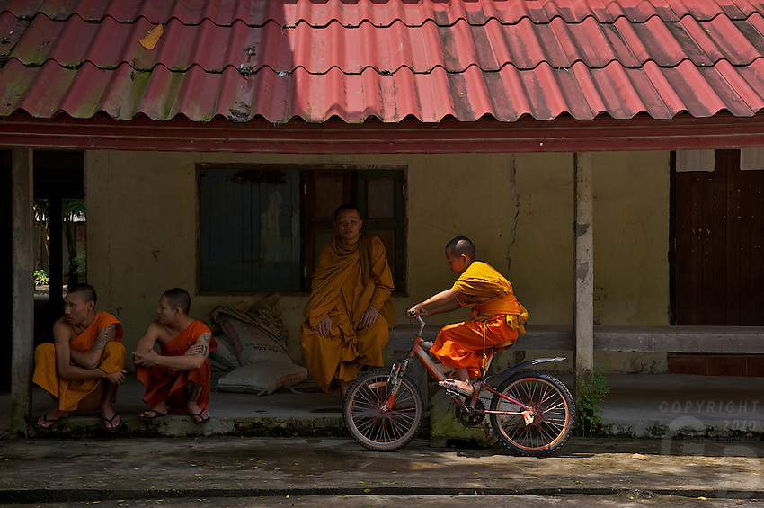 A Monastery just outside Vientiane, Laos