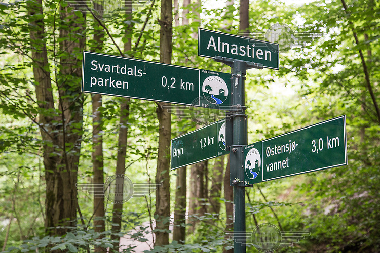 Alnaelva, nederste del ved Svartdalen. © Fredrik Naumann/Felix Features