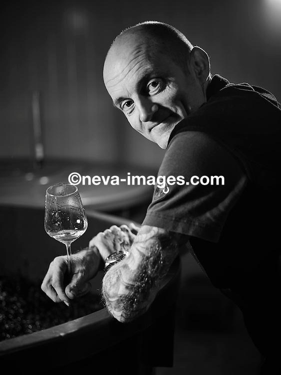 Thierry Constantin, octobre 2016, vigneron-éleveur  © sedrik nemeth