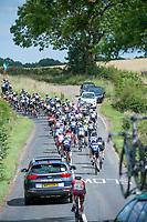 Picture by Allan McKenzie/SWpix.com - 16/07/17 - Cycling - HSBC UK British Cycling Grand Prix Series - Velo29 Altura Stockton Grand Prix - Stockton, England - The peloton passes through the countryside around Stockton.