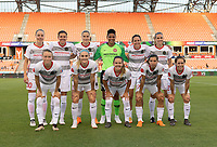 Houston, TX - Friday June 22, 2018: Houston Dash vs Portland Thorns at BBVA Compass Stadium.