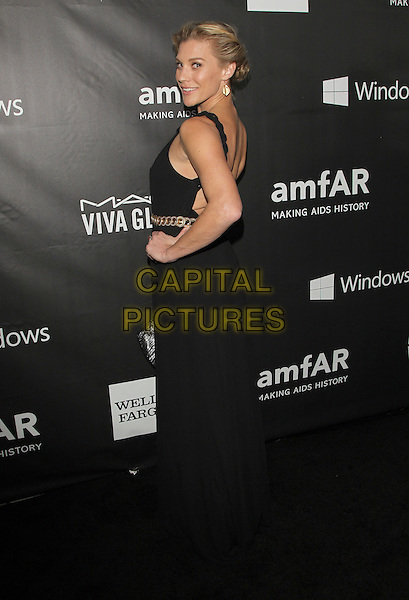 29 October 2014 - Hollywood, California - Katee Sackhoff. amfAR LA Inspiration Gala Honoring Tom Ford Hosted by Gwyneth Paltrow at Milk Studios.  <br /> CAP/ADM/FS<br /> &copy;Faye Sadou/AdMedia/Capital Pictures