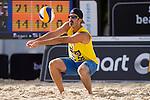 10.05.2015, Muenster, Schlossplatz<br /> smart beach tour, Supercup MŸnster / Muenster, Hauptfeld<br /> <br /> Annahme Todd Rogers <br /> <br />   Foto &copy; nordphoto / Kurth